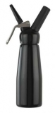 Cream Whipper - 0.5 Litre (Black with Plastic Head)