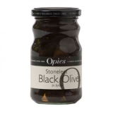 Opies - Black Stoneless Olives in Brine (227g)