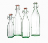 Roma Glass Bottle with flip top lid (500ml)