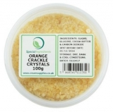 Orange Popping Candy / Crackle Crystals (100g)