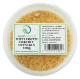 Tutti Frutti Popping Candy / Crackle Crystals (100g)