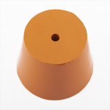 Rubber Bung (Base Dia 38mm) WITH HOLE