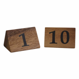 Table Numbers - 1 to 10 (Acacia Wood)