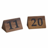 Table Numbers - 11 to 20 (Acacia Wood)