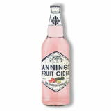 Annings Cider - Pink Grapefruit & Pineapple (500ml) 4% ABV