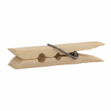 Bamboo Clothes Peg (Single)