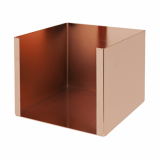 Bar Napkin Caddy - Single Compartment (Copper)