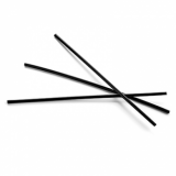 Compostable Straws - Black Cocktail Straws 6-inch 3mm (Pack of 1000)