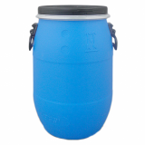 Blue Open Top Plastic Drum Barrel With Lid (30 Litre)