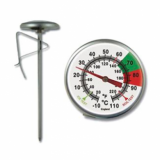 Brannan Milk Jug Thermometer (short version - 125mm)