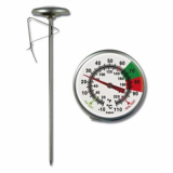 Brannan Milk Jug Thermometer (long version - 175mm)