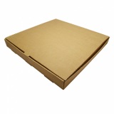 Bio Compostable Brown Pizza Box - 16 Inch (Pack of 50)