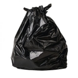 Biodegradable Black Bin Liners Refuse Sack (Pack of 200)