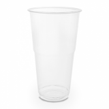 Bio Compostable CE-Marked PINT Plastic Glass (Pk of 60) 20oz/568ml