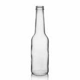 Clear Glass Ice Beer Bottle - 26mm Neck (275ml)
