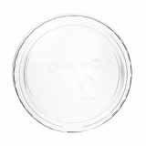 Bio Compostable Portion Pot LIDS (70mm Rim) Fits 2-4oz (Pack of 100)
