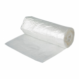 Clear Oxo Degradable Square Bin Liners (30 Litre) - Heavy Duty