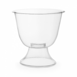 Bio Compostable Clear Wine Goblets - 175ml (Pack of 50)