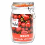 Cliptop Glass Preserving Jar - 170mm (1075ml)