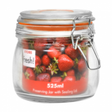 Cliptop Glass Preserving Jar - 110mm (525ml)