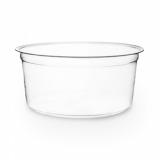 Bio Compostable Deli Pots (117mm Rim) - 12oz/340ml (Pack of 50)