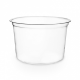 Bio Compostable Deli Pots (117mm Rim) - 16oz/450ml (Pack of 50)