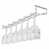 Glass Hanger - Chrome (24 inch)