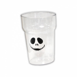 Polycarbonate - Half Pint Glass (284ml/10oz) Halloween Jack Skellington