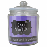 Glass Biscotti Jar (0.9 Litre)