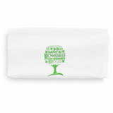 Vegware Dispenser Napkins 33cm 1-Ply - Pack of 250 (Green Tree Logo)
