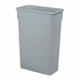 Grey Slim Recycling Bin (87 Litre) - BASE ONLY