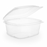 Bio Compostable Hinged Lid Deli Container - 16oz/450ml (Pack 50)