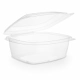 Bio Compostable Hinged Lid Deli Container - 24oz/680ml (Pack 50)