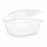 Bio Compostable Hinged Lid Deli Container - 48oz (Pack of 50)