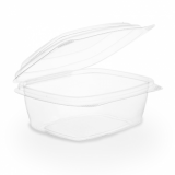 Bio Compostable Hinged Lid Deli Container - 8oz/220ml (Pack 50)