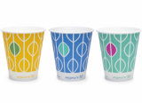 Bio Compostable Hula Paper Cups 16oz (96mm Rim) Pack of 50