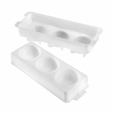 Eddingtons - Ice Ball Maker Tray / Mould (Large - 3 x 60mm Spheres)