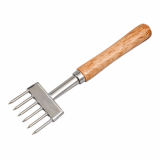 Ice Chipper with 6 Prongs (Wooden Handle)