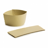 Bio Compostable Ice Cream/Soup SLEEVE (Pack of 25)