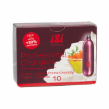 Cream Chargers by ISI Pro N2O - Pack of 10