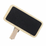 Mini Chalkboard Peg - 40mm x 20mm (Single)