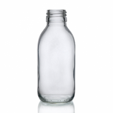 Mini Glass Bottle (150ml) - Clear Glass