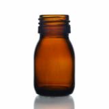 Mini Glass Bottle (30ml) - Amber Glass