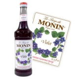 Monin Syrup - Violet (70cl) Dented Lid