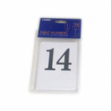 Number Cards for Table Stands - 1 to 25