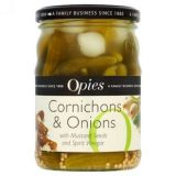 Opies - Cornichons and Onions (350g)