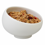 Orion Angled Serving Bowl (12cm) - White Porcelain