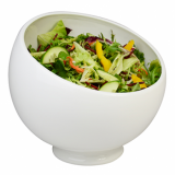 Orion Angled Serving Bowl (20cm) - White Porcelain