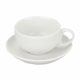 Orion Cappuccino CUP (225ml) - White Porcelain