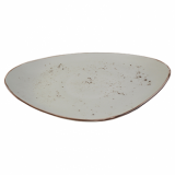 Elements Rustic Shaped Plate (36 x 23.5cm) - Sandstorm CLEARANCE